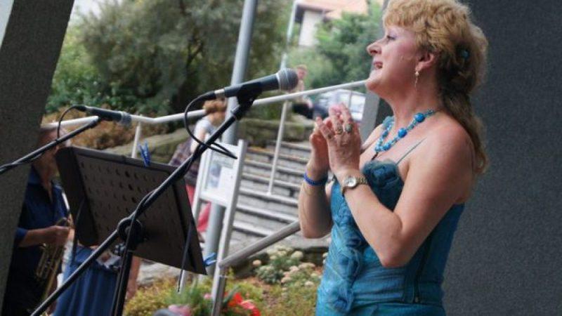Olga Procházková wystąpiła w Parku Roth