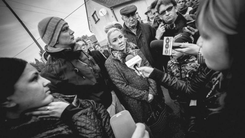 Protestują przeciwko budowie wiatraków w Wojnowicach