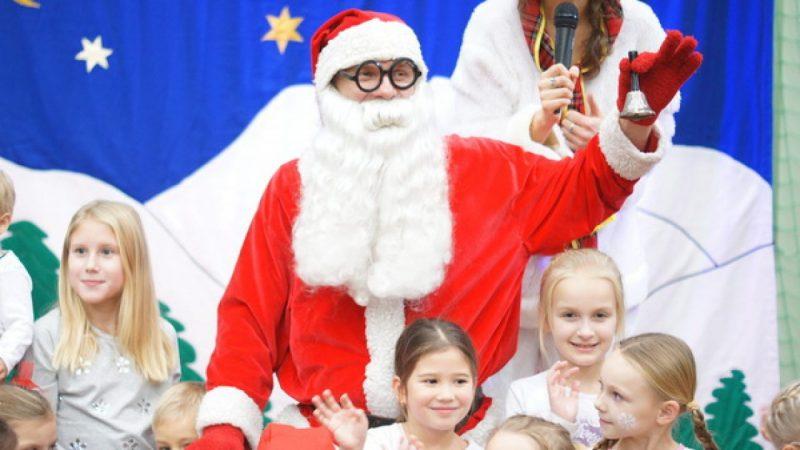 Mikołaj odwiedził Arenę Rafako