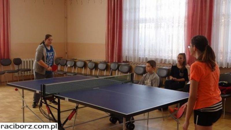 Turniej tenisa stołowego w Bojanowie