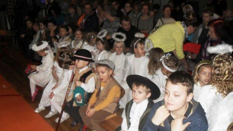 Uczniowie z Górek Śl. wystąpili z koncertem kolęd