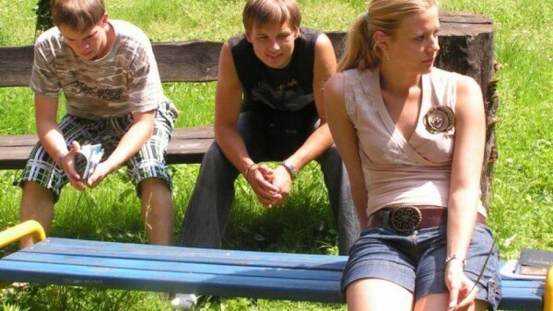 Młodzi Łotysze w Raciborzu