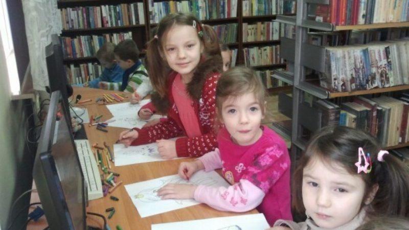 Podsumowanie ferii z biblioteką