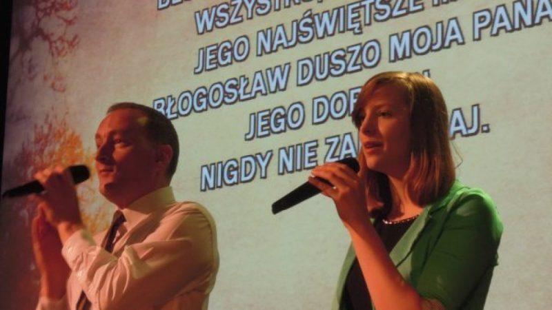 Otwarcie nowej sali Kościoła Zielonoświątkowców