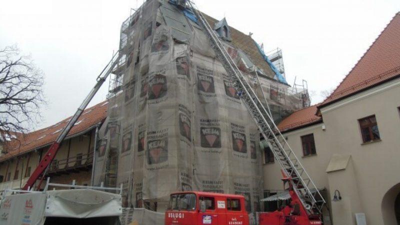 Remont kaplicy zamkowej