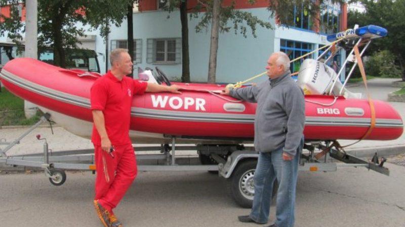 WOPR z Raciborza ma nową łódź
