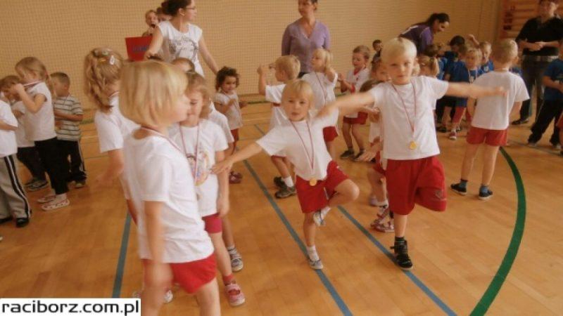 Spartakiada Przedszkolaków w Rudniku