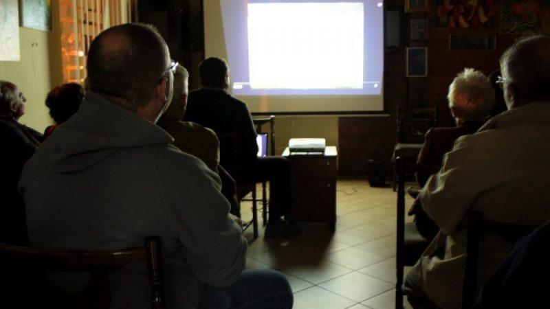Projekcja filmu Gurdena Gadaczika w TMZR
