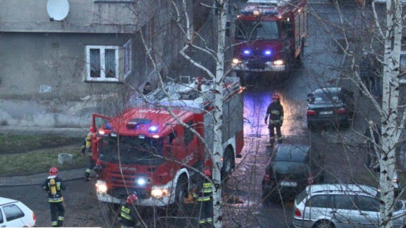 Strażacy przyjechali do przypalanego obiadu