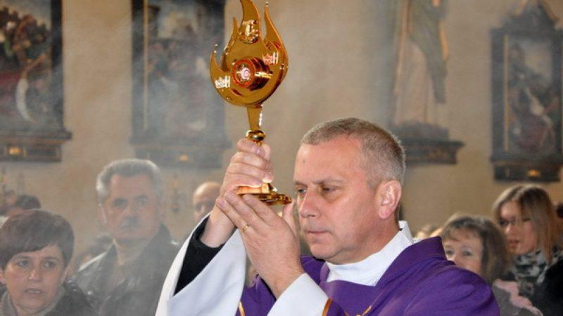 Relikwie św. o. Kolbego w Brzeziu