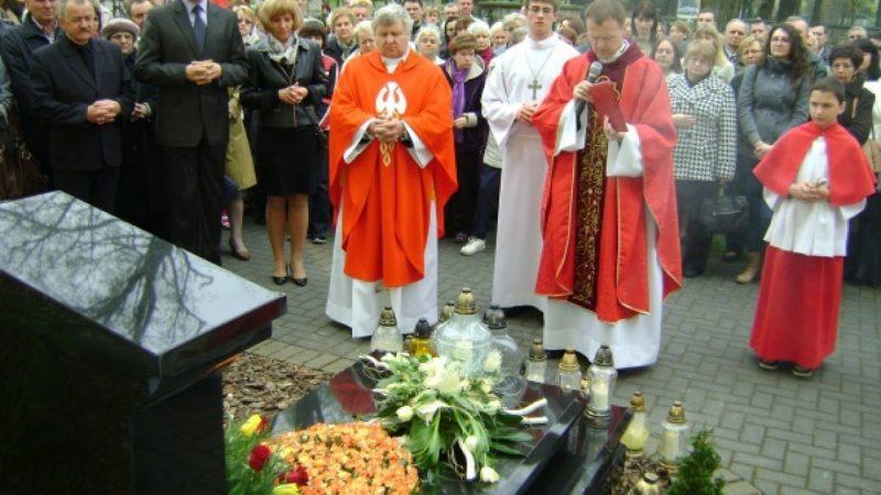Pierwsza rocznica śmierci ks. Dębickiego