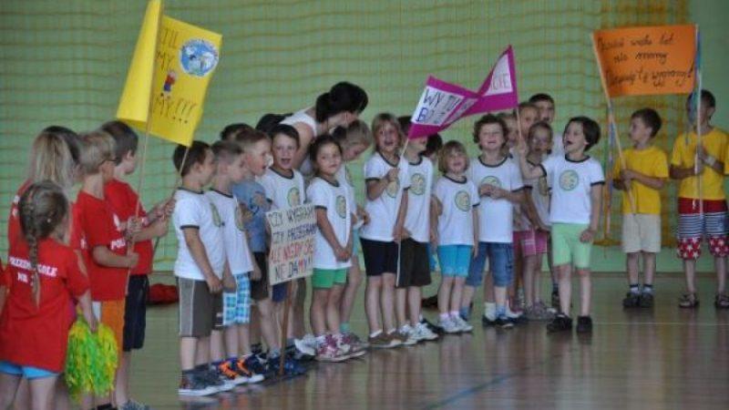 Spartakiada przedszkolaków w Kuźni Raciborskiej