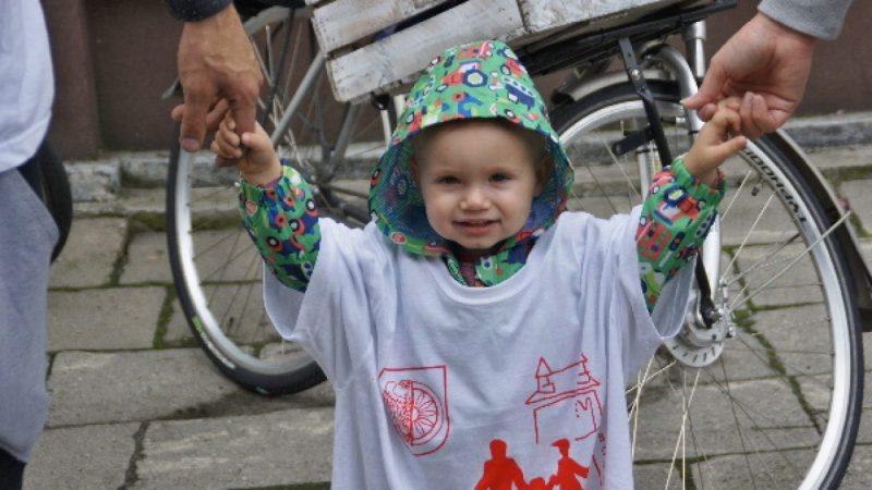 Rodzinny rajd rowerowy w Raciborzu