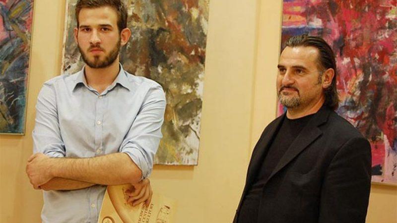 Wernsaż wystawy Tobiasza Frączka