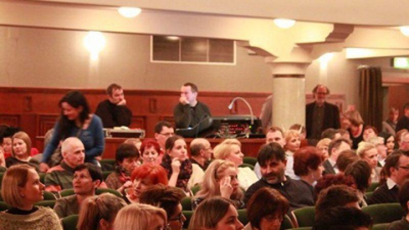 Publiczność podziwiała występ Anny Marii Jopek