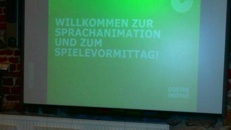 Współpraca Gimnazjum nr 1 z Instytutem Goethego
