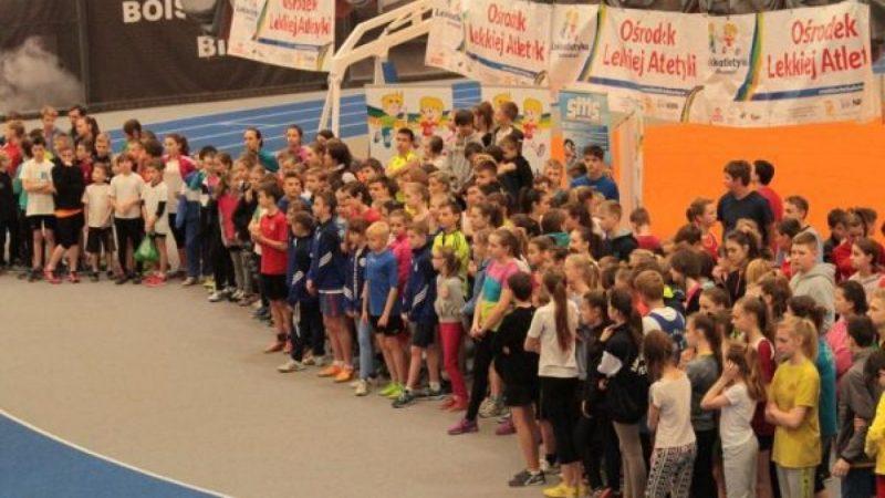 Pierwsze oficjalne lekkoatletyczne zawody na nowej hali SMS