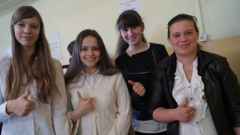 Egzamin gimnazjalny w Nędzy
