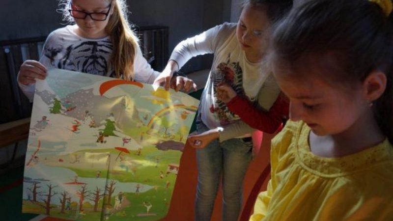 """Deutsch-Wagen-Tour"" w szkole w Górkach Śl."