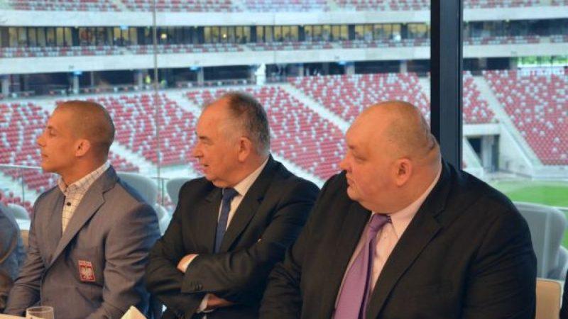 Grzegorz Pieronkiewicz i Ryszard Wolny na Stadionie Narodowym