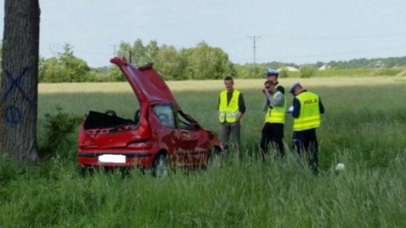Wypadek na trasie Ciechowice-Turze