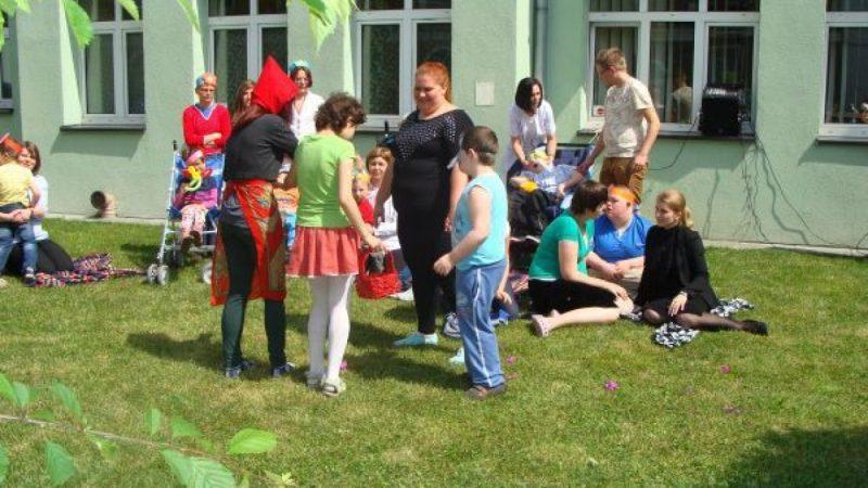 Piknik w Raciborskim Centrum Rehabilitacji Osób Niepełnosprawnych