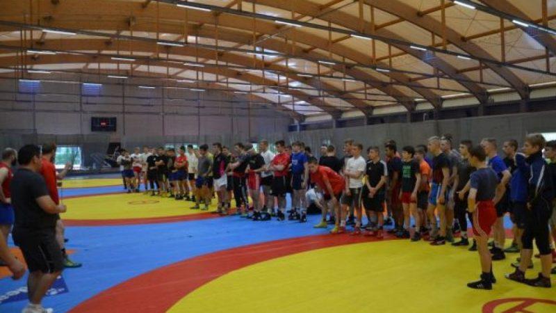 Zapaśnicy z Niemiec i Polski trenowali w Raciborzu