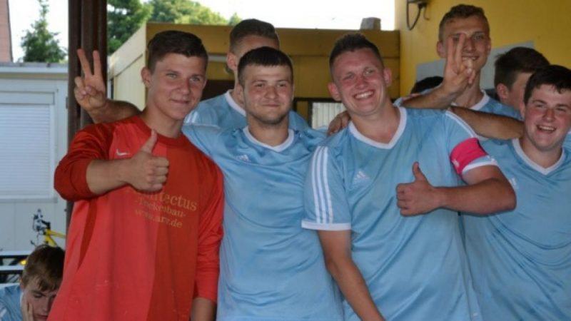 Juniorzy z Zabełkowa z Pucharem Wójta