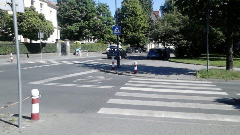 Skrzyżowanie Słowackiego z Ogrodową