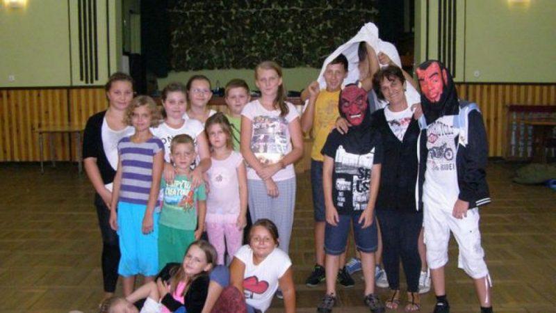 Biwak w Domu Kultury w Borucinie