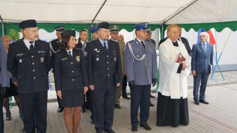Uroczyste otwarcie Komisariatu Policji w Krzyżanowicach