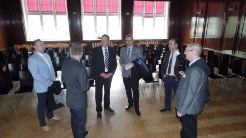 Wizyta delegacji z partnerskiego Powiatu Elbe-Elster