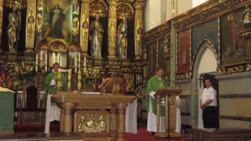 Msza św. z okazji XVI Memoriału w kościele farnym