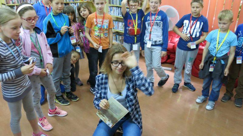 Barbara Gawryluk o psie Dżoku w raciborskiej bibliotece